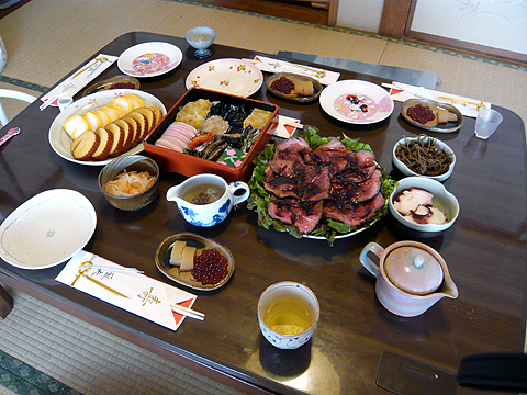 2009年版Himu家のおせち